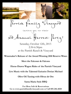 PFV Harvest Party