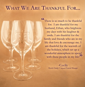 Cecily's Thankful