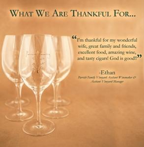Ethan's Thankful