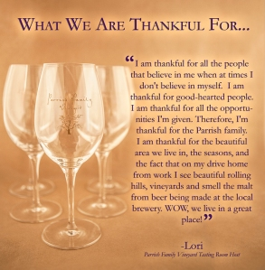 Lori's Thankful