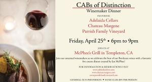 Cabs of Dinstinction_Dinner