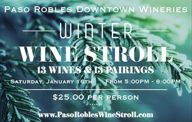 Paso Robles Wine Stroll 012016